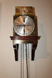 19th century franklin clock