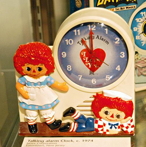 Raggedy Ann clock