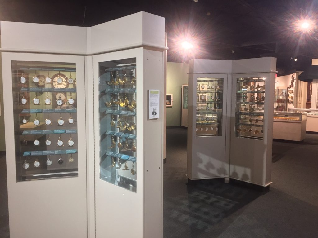 early american pocket watch display cases