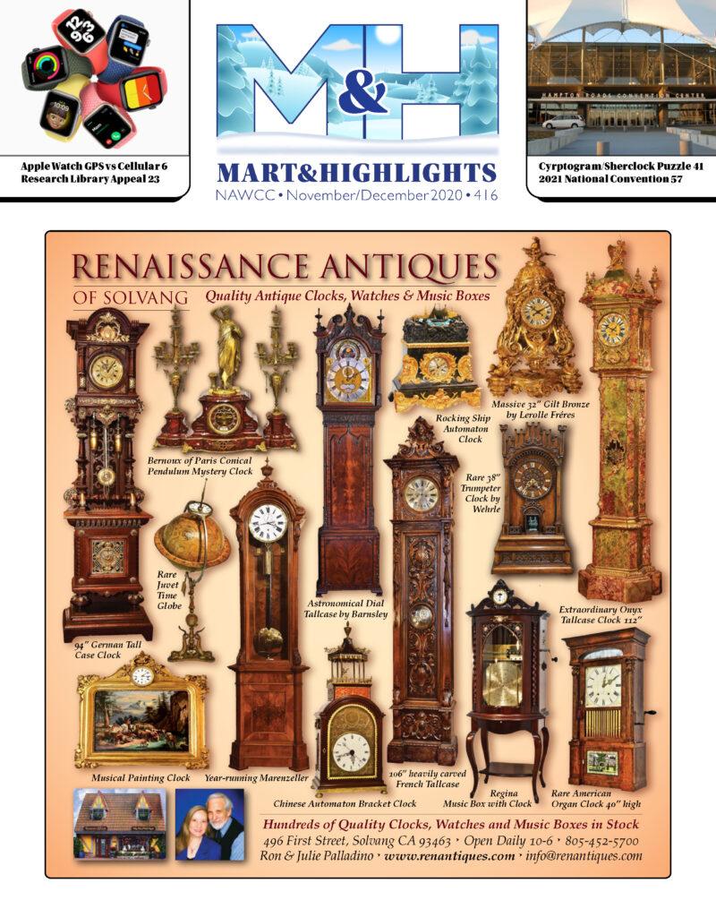 Cover for the Nov/Dec Mart & Highlights